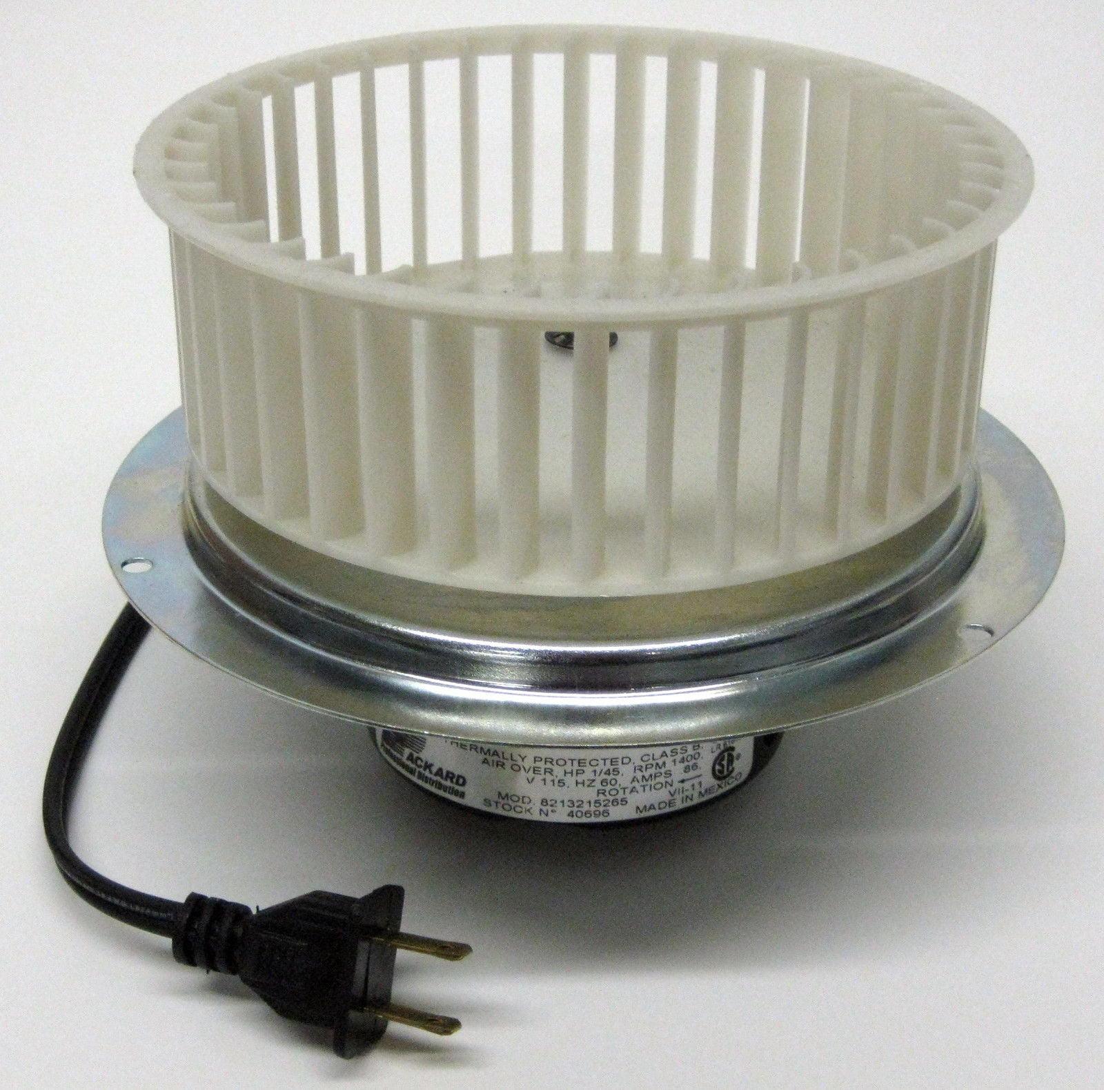 vent bath fan motor u0026 blower wheel for 0696b000 nutone broan qt110 walmartcom