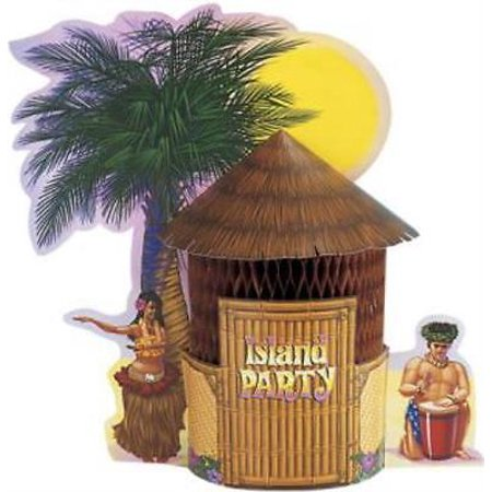Tiki Hut Centerpiece, 2PK](Tiki Hut Supplies)