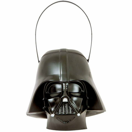Darth Vader Pail Halloween Costume Accessory (Halloween Pails Wholesale)
