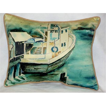 "Oyster Boat Art Only Pillow 16""x20"" - image 1 of 1"