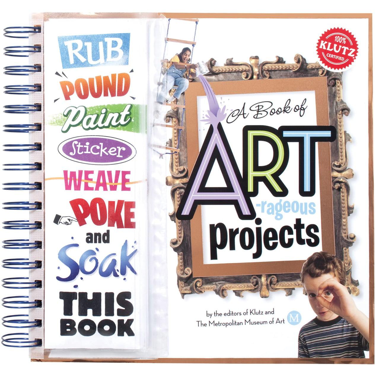 Klutz Artrageous Projects Book Kit- - Walmart.com