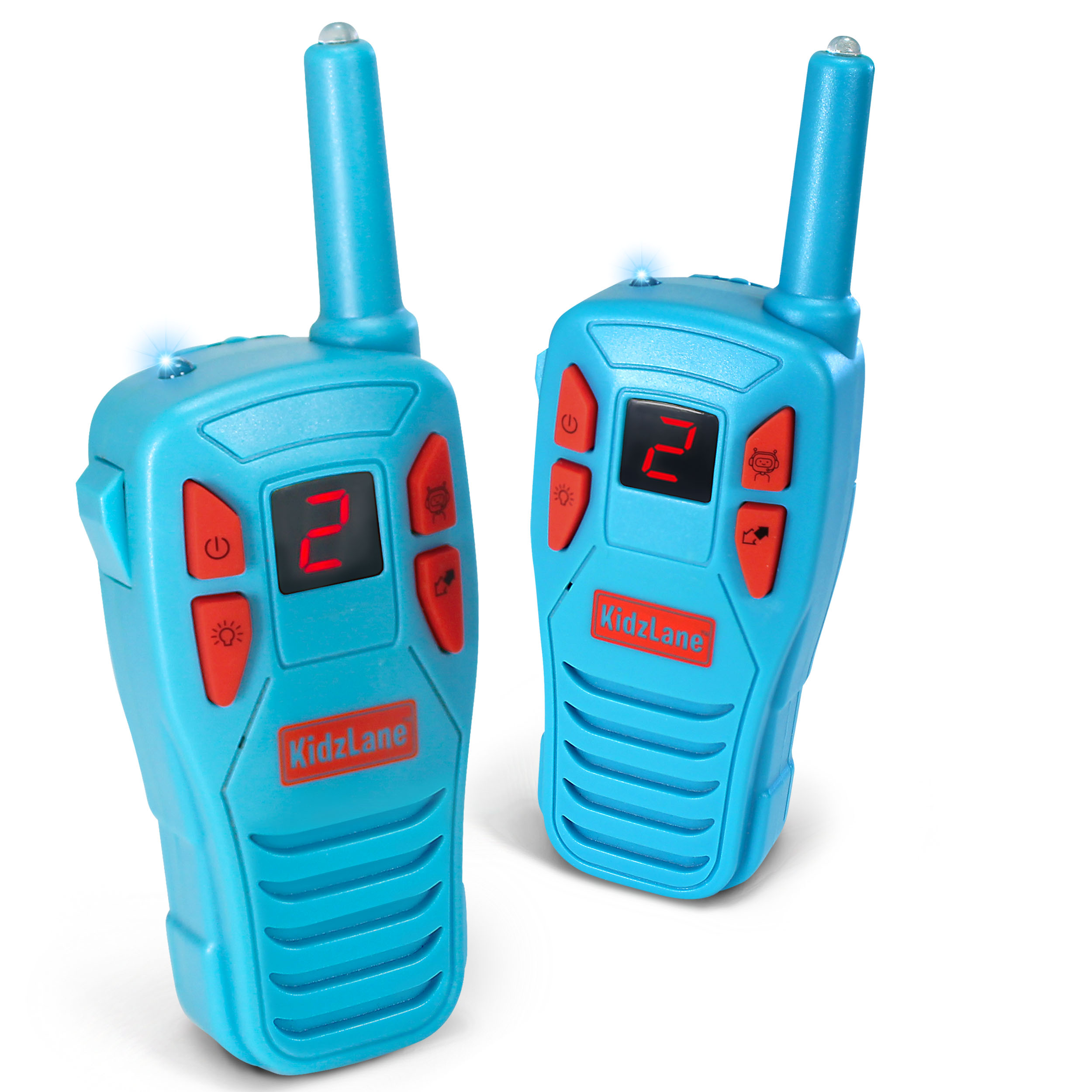 Voice Changing Walkie Talkies for Kids - 2 Mile Range, 8 Channels, Flashlight, & Call Alert …