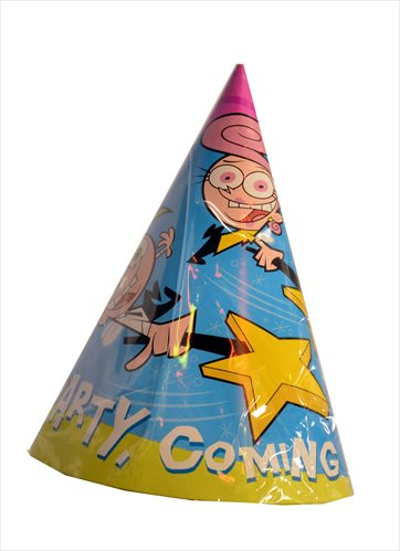 Fairly OddParents Cone Hats (8ct) by