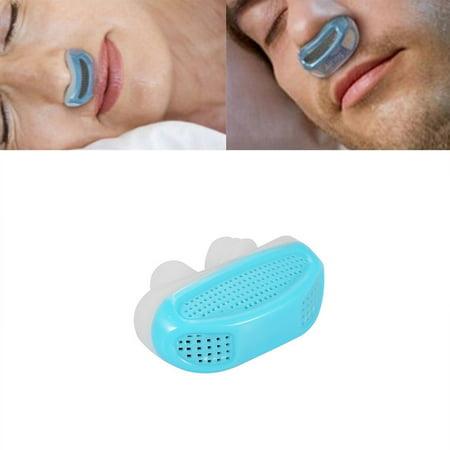 TekDeals Silicone Anti Snore Device Nasal Dilators Apnea Aid Stop Snoring Nose Clip USA