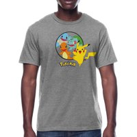 Pokemon Pikachu Characters Men's and Big Men's Graphic T-shirt