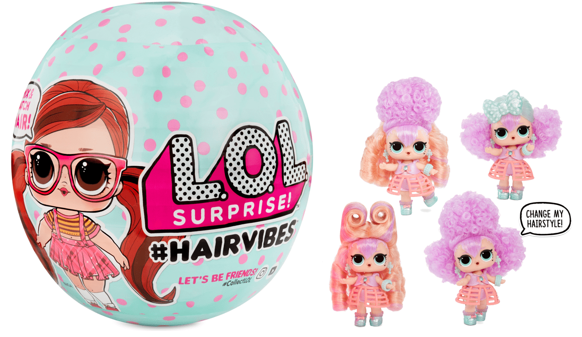 Lol Surprise Hairvibes Dolls With 15 Surprises Including Exclusive Doll Fashion Outfits Shoes Accessories Wigs And More For Kids Ages 6 8 Walmart Com Walmart Com