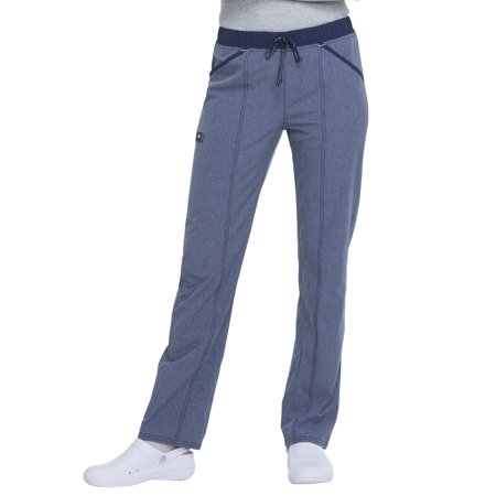 ac543790854 Scrubstar - Scrubstar Women's Fashion Collection Heathered 4-Way Stretch  Scrub Pant - Walmart.com
