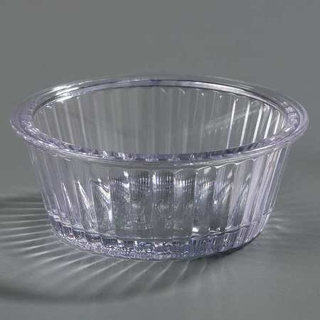 Clear Fluted Ramekin, Clear ,Carlisle, 84507