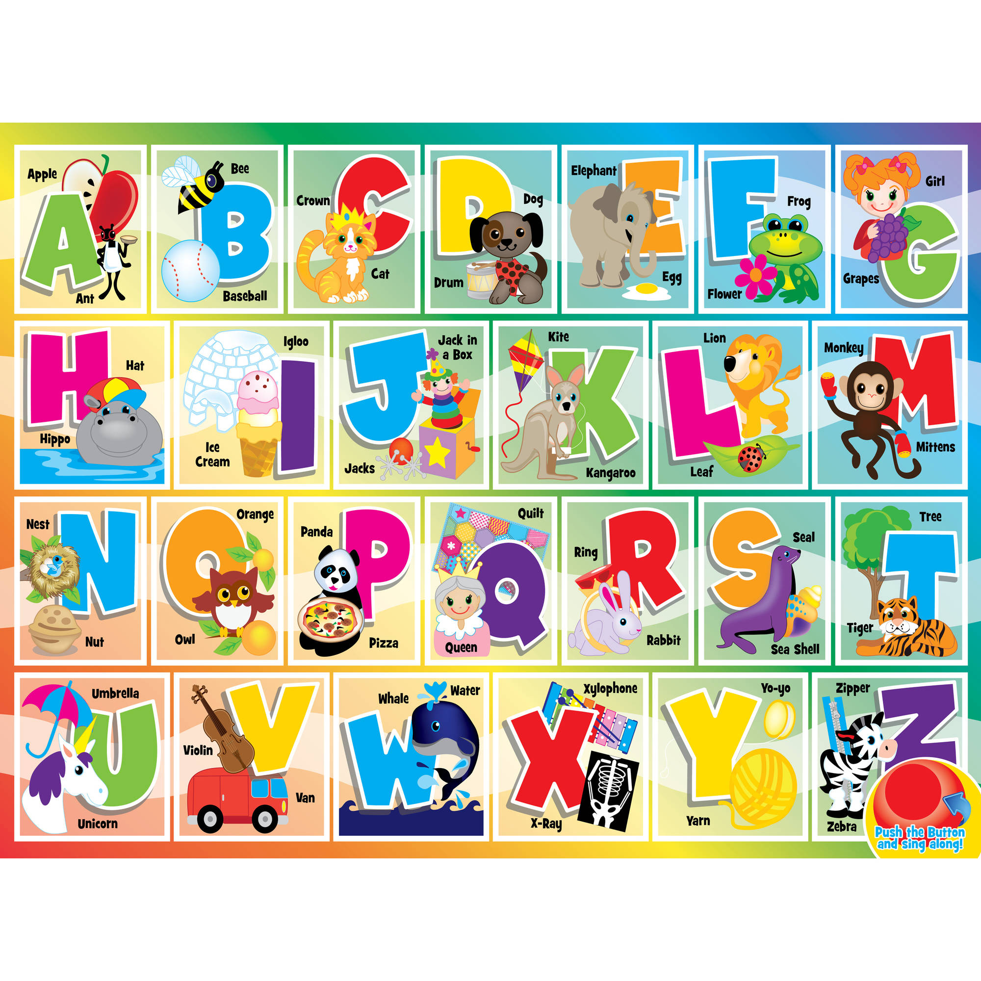 MasterPieces Alphabet Song 24 Piece Puzzle