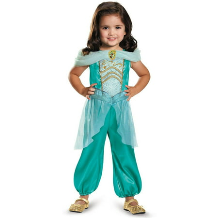 Infant Princess Jasmine Costume (Disney Princess Jasmine Classic Child Halloween Costume, Small)