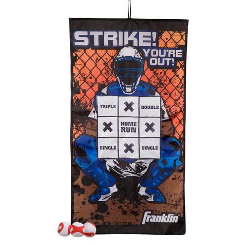 Franklin Sports Baseball Target IndoorPitch Game