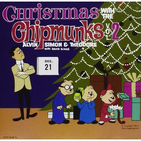 Christmas With The Chipmunks, Vol. 2, The Chipmunks - Christmas With The Chipmunks CD By Alvin the Chipmunks Format Audio CD Ship from US