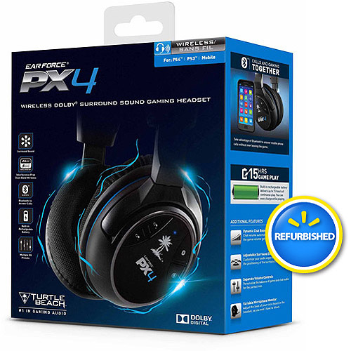 Turtle Beach FG Ear Force PX4, Refurbished (PS4 / PS3 / Xbox 360 / Mobile)