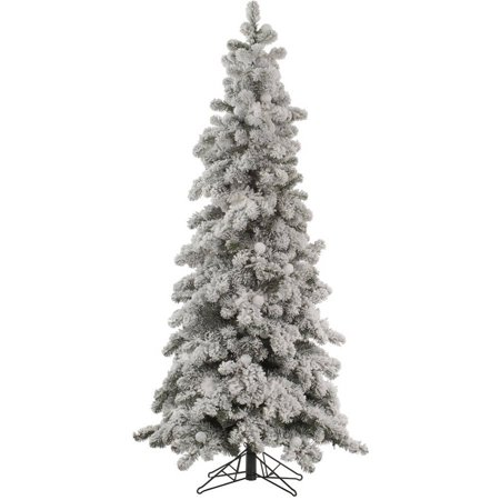 Walmart Flocked Christmas Trees