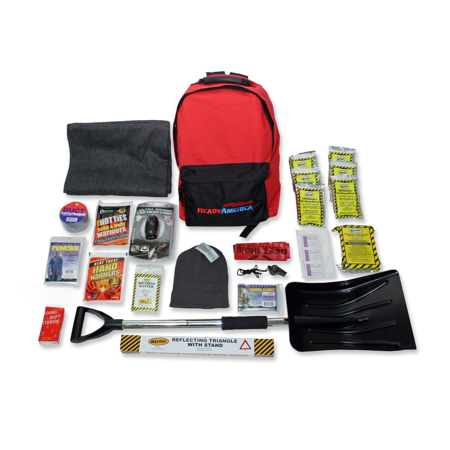Ready America 1Person Cold Weather Survival Kit-3 Day Pack by Ready America