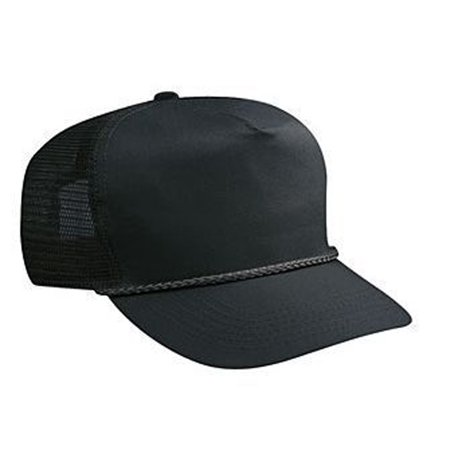 Otto Cap Cotton Twill High Crown Golf Style Mesh Back Caps - Hat / Cap for Summer, Sports, Picnic, Casual wear and Reunion etc Cotton Twill Mesh Cap