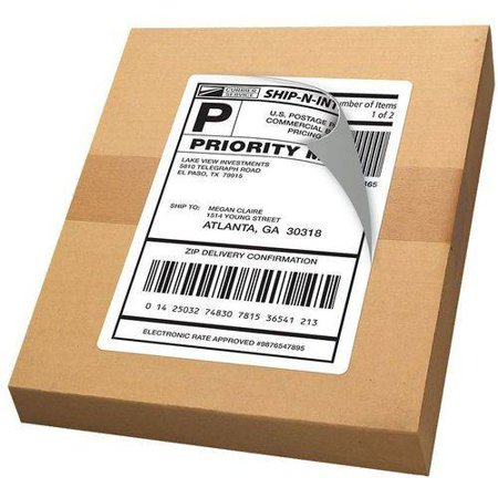 Avery R  Internet Shipping Labels With Trueblock R  Technology 18126  5 1 2  X 8 1 2   Pack Of 20