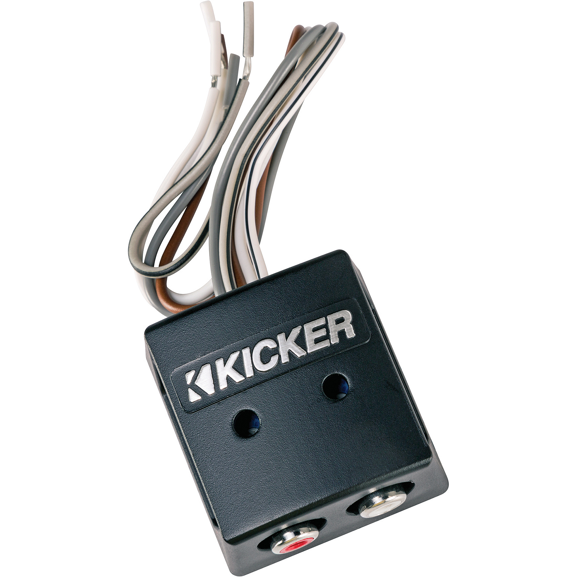 Kicker K-Series Interconnect 2-Channel Speaker to RCA Converter with LOC