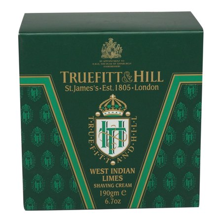 Truefitt & Hill Shave Cream Tub West Indian Lime 6.7 oz.