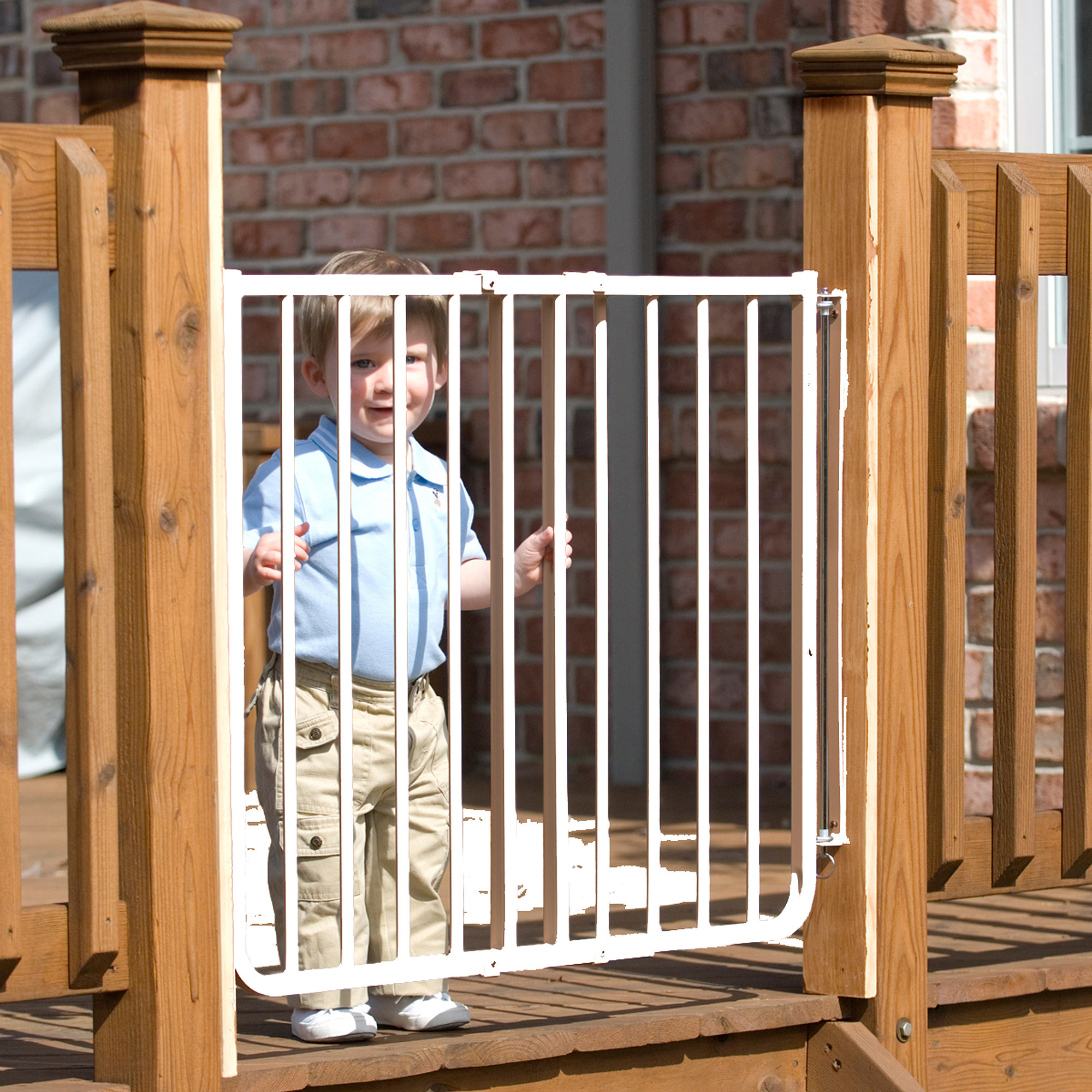 Cardinal Gates Stairway Special Outdoor Child Safety Gate