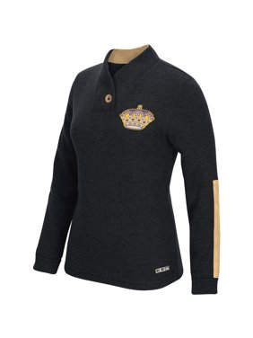 Product Image Los Angeles Kings CCM Women s Pullover Shawl Sweater - Black f421da591