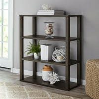Mainstays Parsons 3-Shelf Book Case