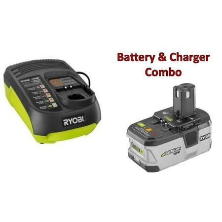 ryobi p203 18v li ion battery p131 vehicle charger. Black Bedroom Furniture Sets. Home Design Ideas