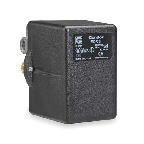 CONDOR USA, INC 31KGXEXX Pressure Switch, 3PST, 140/175 psi