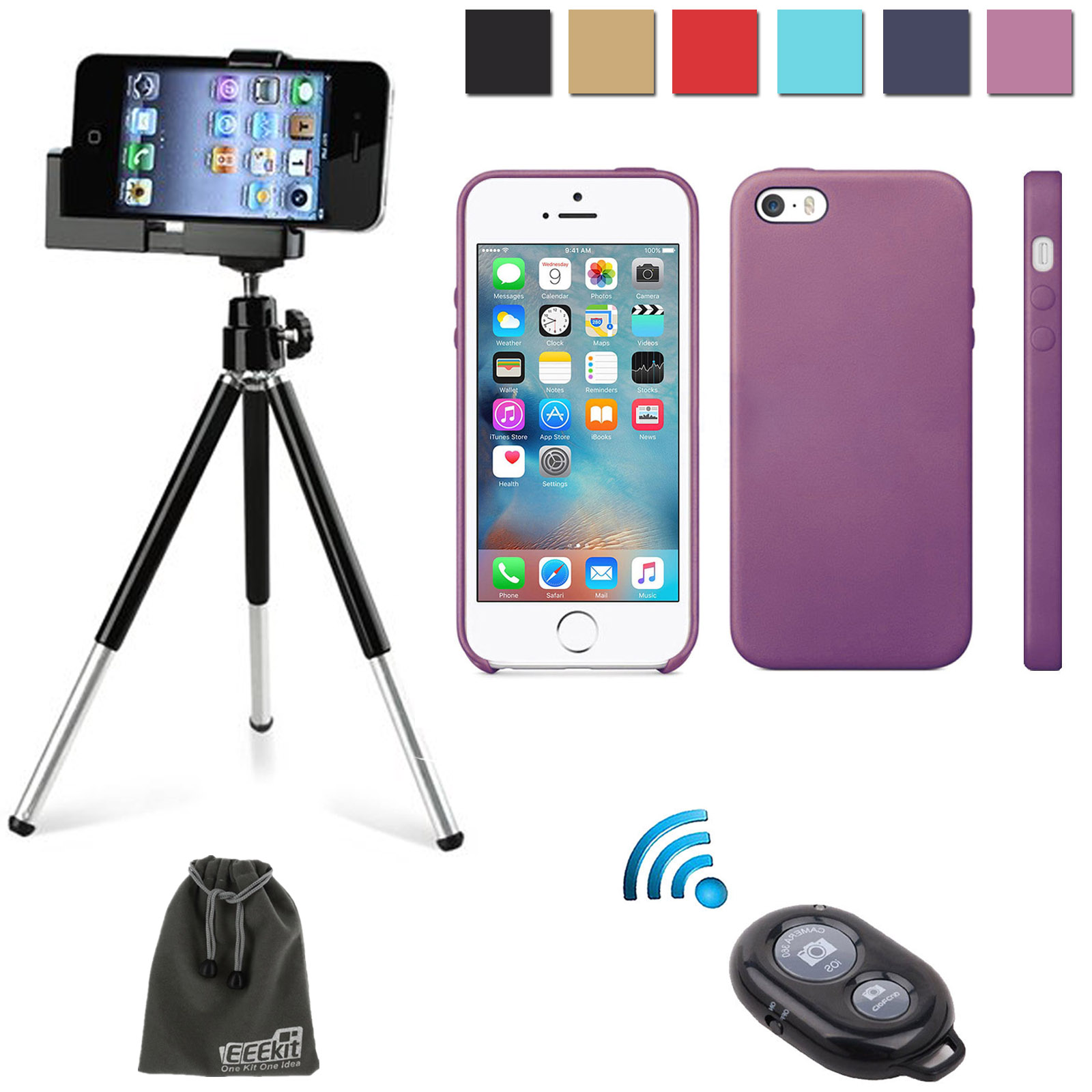 EEEKit 3in1 Starter Kit for Apple iPhone SE, Slim Dual ...