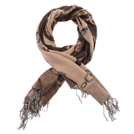- Beige Brown Scarfs for Women Casual Abstract Silk Blend Neck Scarfs for Winter Fashion Shawl Wrap Warm and Cozy Scarves for Ladies Girls Fashion Accessory Gift Ideas by Oussum