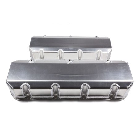 Valve Covers Tall Design (Moroso 68486 Fabricated Aluminum Valve Covers Big Block Chevy Tall Design)