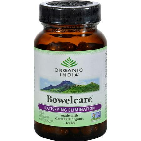 Organic India Bowel Care Formula - 90 Vegetarian (Best Medicine For Acidity In India)
