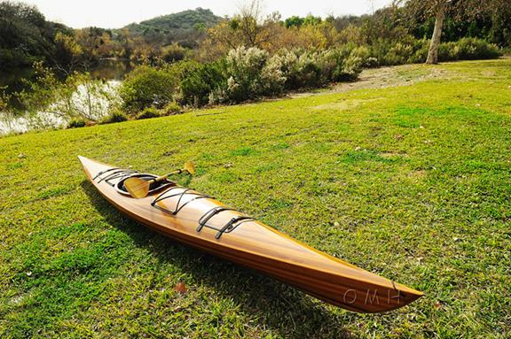 Old Modern Handicrafts K001 Real Kayak 17 1 person by Old Modern Handicrafts