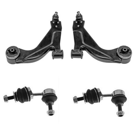 Front Left & Right Suspension Control Arm & 2 Set Rear Stabilizer Sway Bar Link 1 3/8' Front Sway Bar