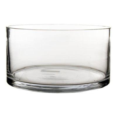 Cylinder Vases Bulk Wide Cylinder Vase H 4 D 8 4 Pcs Wide