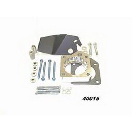 Taylor Billet Specialties 40015 Helix Power Tower Plus Throttle Body Spacer