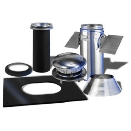 - selkirk metalbestos 6t-pck pitched ceiling support kit stainless