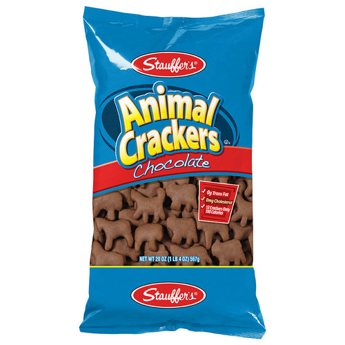 Stauffer's Chocolate Animal Crackers, 20 oz