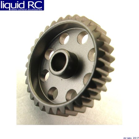 Hot Racing HAG835 35 Tooth 48 Pitch Hard Aluminum Pinion Gear (Pitch Aluminum Pinion)