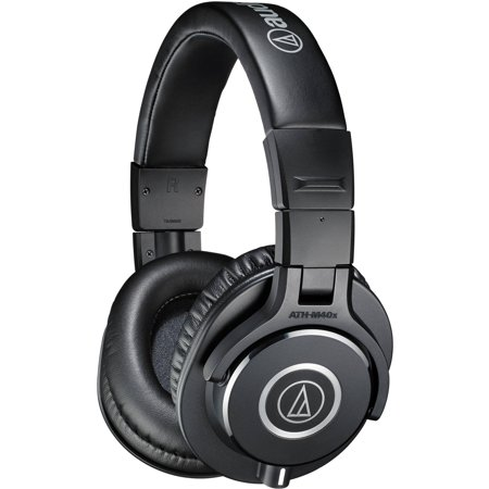 - Audio-Technica ATH-M40x Professional Monitor Headphones