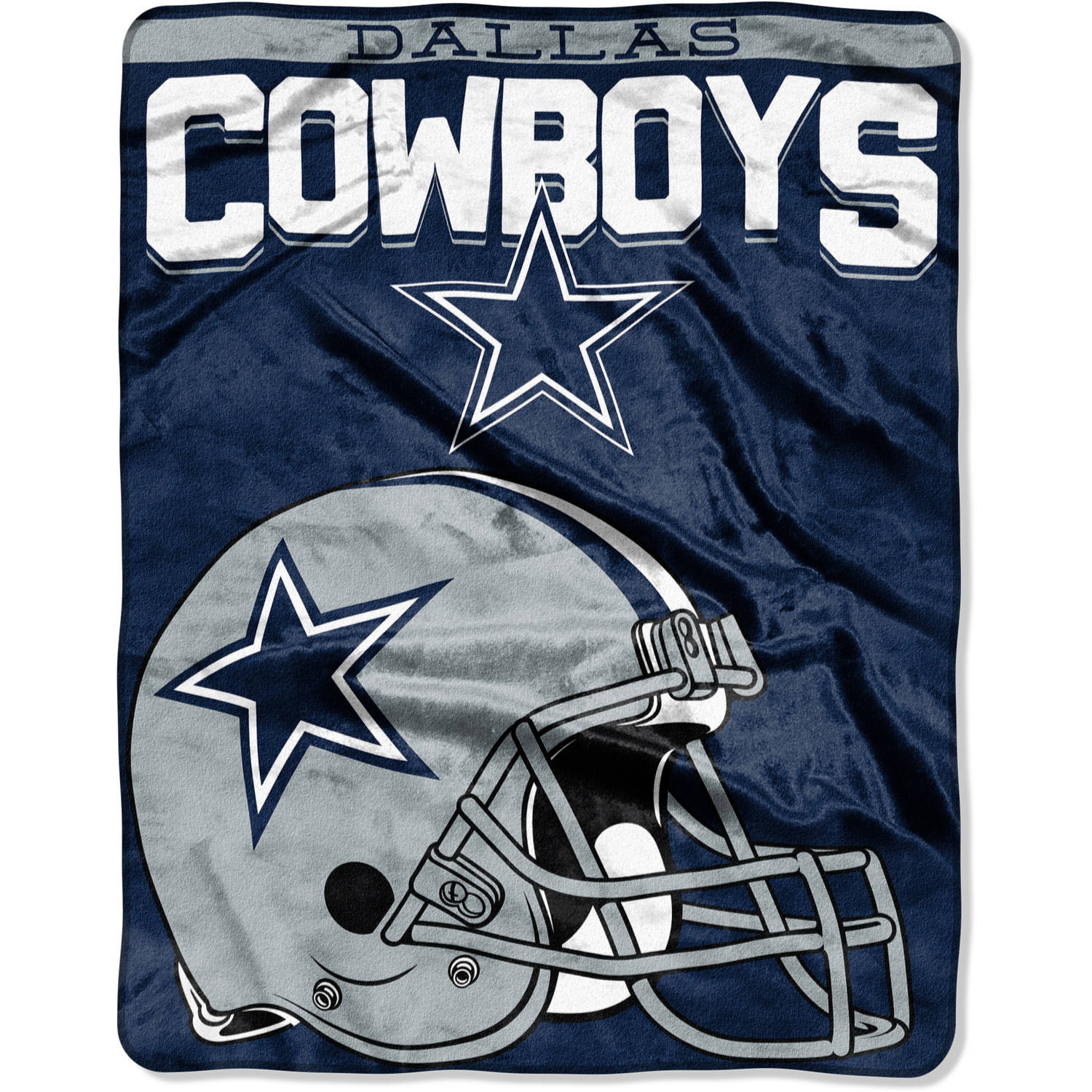 "NFL Dallas Cowboys ""Drawback"" 55"" x 70"" Silk Touch Throw"