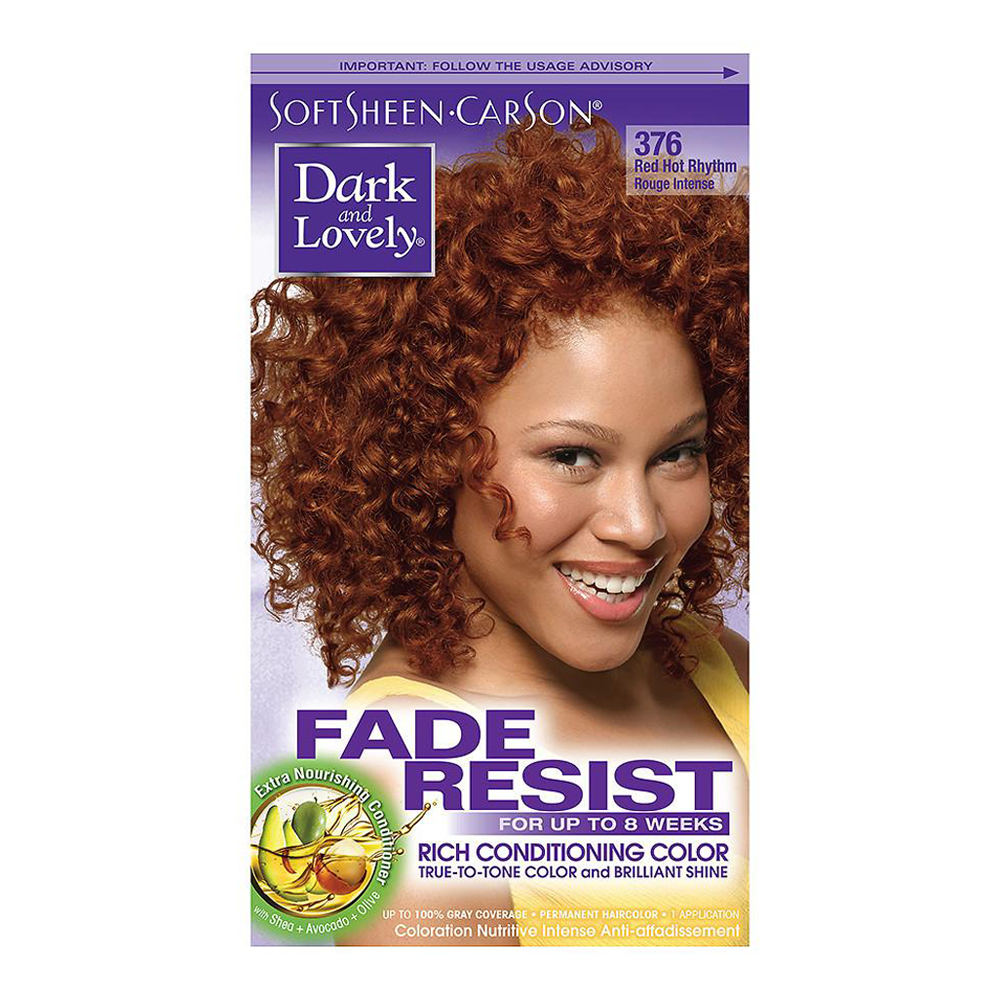 Softsheen Carson Dark And Lovely Red Hot Rhythm Hair Color 376 1