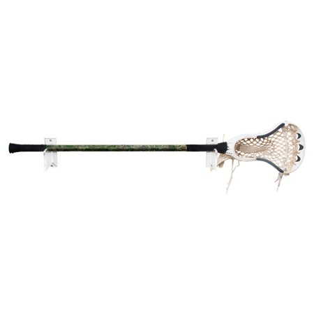 Deluxe Clear Acrylic Lacrosse Stick Wall Mount Bracket A023 L Ss
