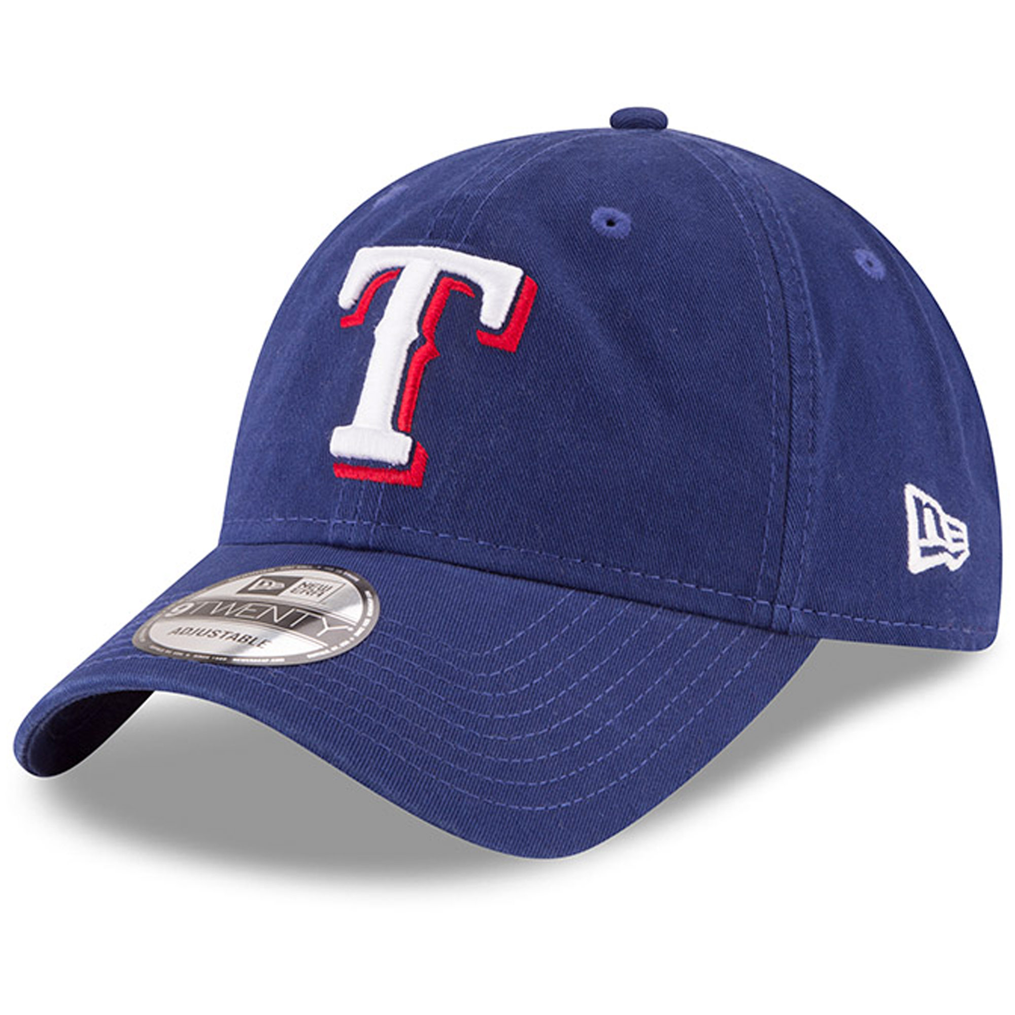 Texas Rangers New Era Game Replica Core Classic 9TWENTY Adjustable Hat - Royal - OSFA