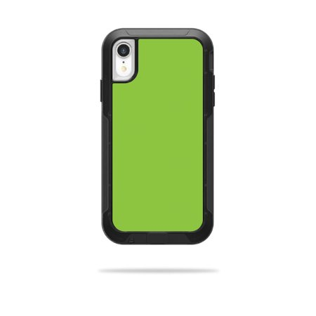 Skin for OtterBox Pursuit iPhone XR Case - Solid Lime Green | Protective, Durable, and Unique Vinyl Decal wrap cover | Easy To Apply, Remove, and Change Styles