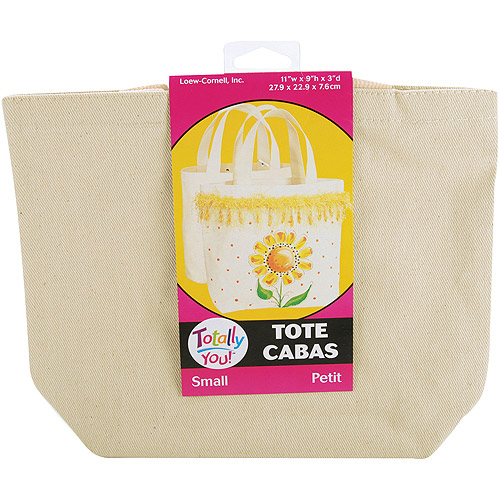 Loew-Cornell Totally You! Small Tote, Natural