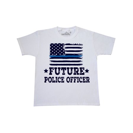 Future Police Officer Law Enforcement Youth T-Shirt