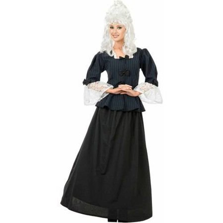 Martha Washington Colonial Woman Women's Adult Halloween Costume (Halloween Washington Dc Parade)