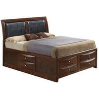 Glory Furniture Marilla G1550I-FSB4 Full Storage bed, Cherry