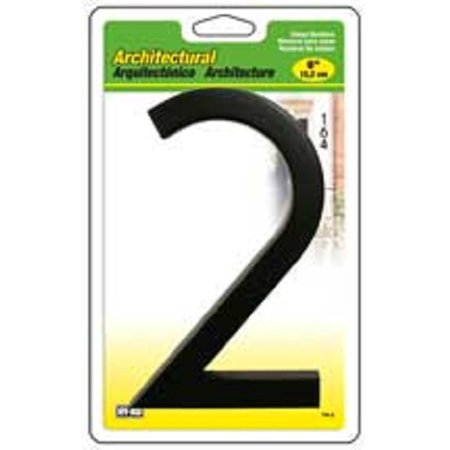 #2- 6 Inch Architectural House Number